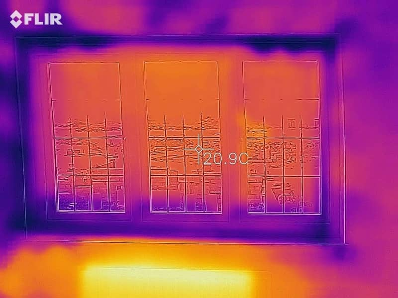 Thermal Imaging Snag with Cold window by The Professional Snagging Company